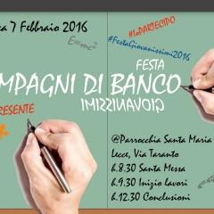 COMPAGNI DI BANCO Festa Giovanissimi 2016