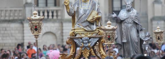 Solenni festeggiamenti in onore dei SS. Oronzo, Giusto e Fortunato