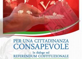 Per una cittadinanza consapevole. In dialogo sul Referendum Costituzionale.