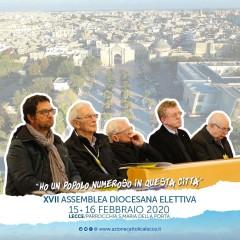 I Presidenti diocesano emerito alla XVII Assemblea Diocesana elettiva dell'AC di Lecce