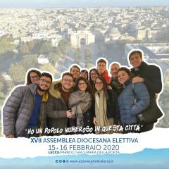 Equipe Diocesana Settore Giovani per la XVII Assemblea Diocesana elettiva dell'AC di Lecce