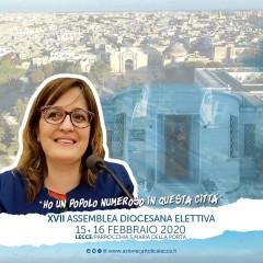 Maria Grazia Vergari, Vicepresidente nazionale per il Settore Adulti di AC alla XVII Assemblea Diocesana