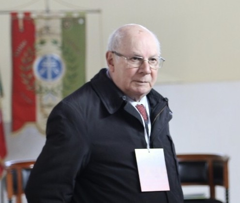 Il Presidente Reno Sacquegna è tornato tra le braccia del Padre